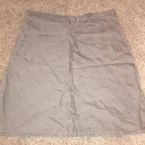 Tommy Bahama size small brown linen skirt